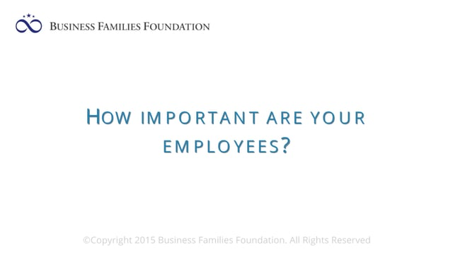 How Important are Your Employees?