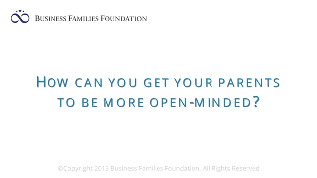 How Can You Get Your Parents To Be More Open-Minded?