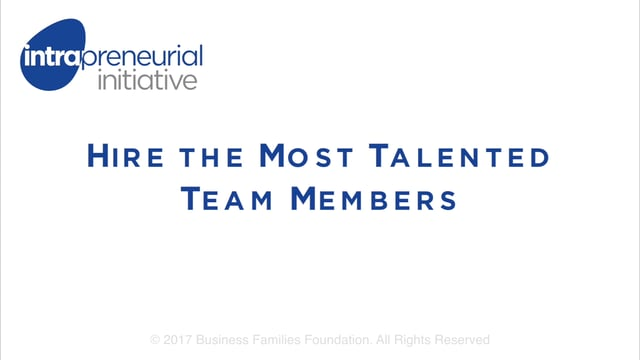 Hire the Most Talented Team Members