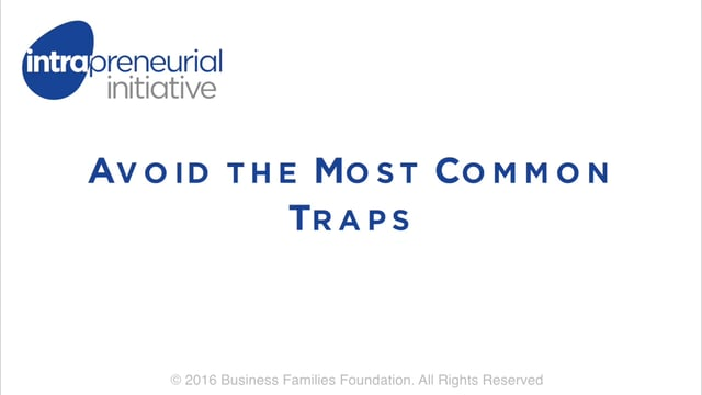 Avoid the Most Common Traps