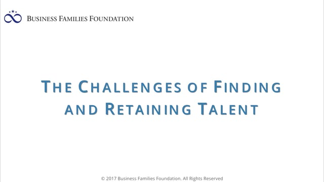 The Challenges of Finding and Retaining Talent