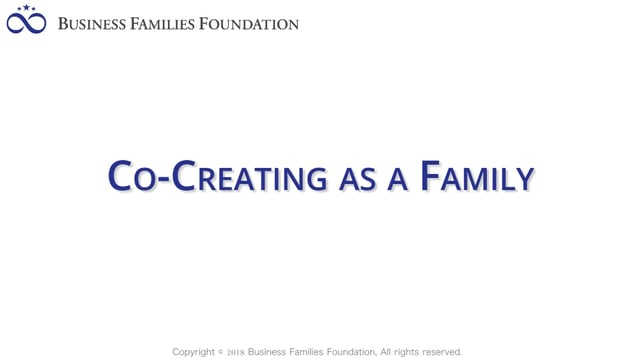 Co-Creating as a Family