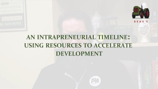 An Intrapreneurial Timeline: Using Resources to Accelerate Development